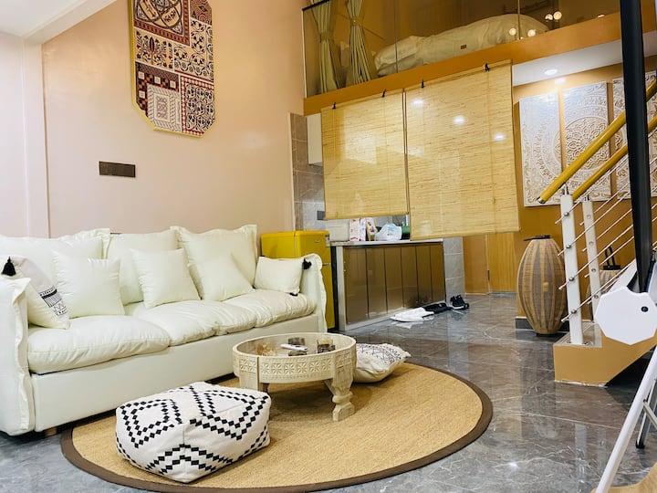626-熙梦里万达广场地铁上盖家庭影院整租