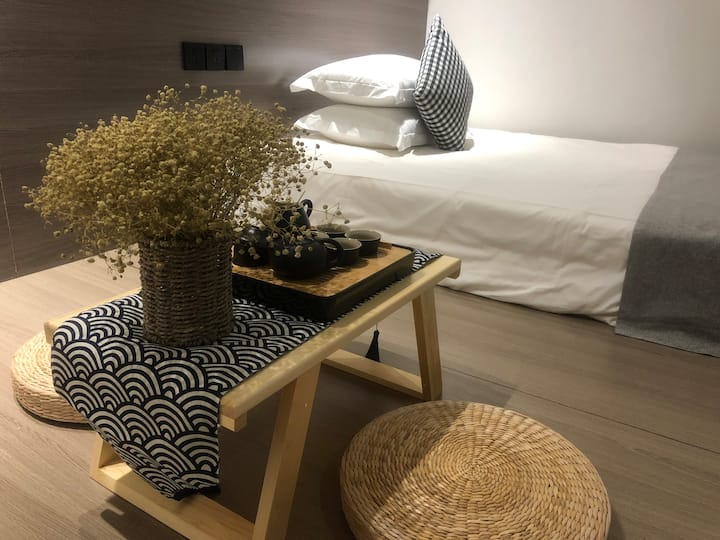 日式榻榻米大床房