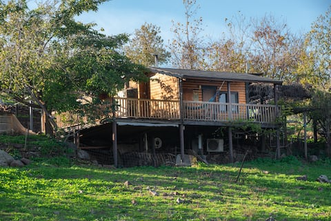 Keeper's House in the Heart Isolated Sheep Farm in Ramat Golan