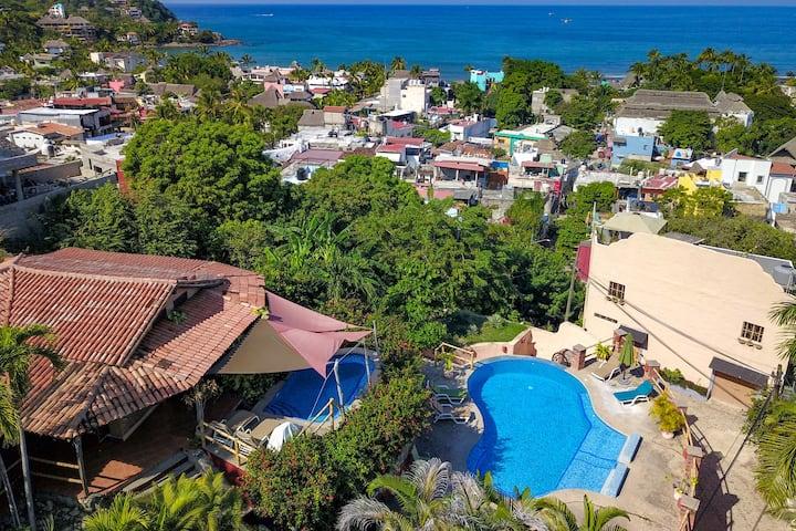Three Bedroom + Oceanview Terrace + 2 Pools