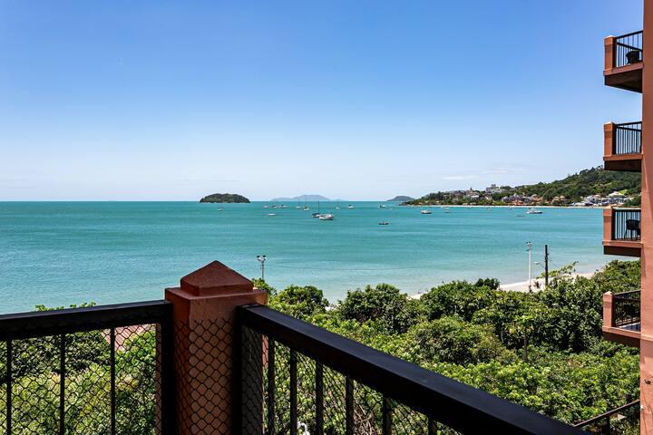 Resort - Studio Reformado vista mar/piscina JBV224