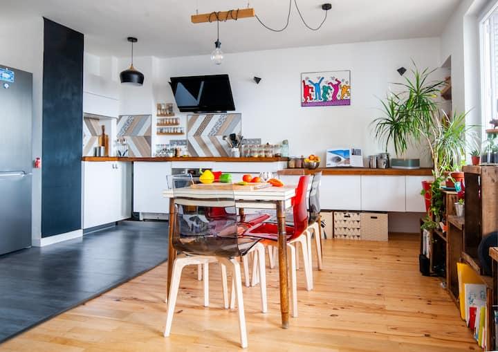 Appartement T2 refait à neuf - Jean Macé - 55m2