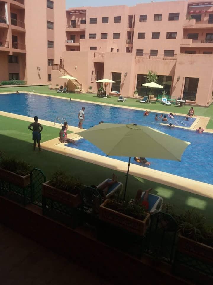 appartement en plein de centre de Marrakech