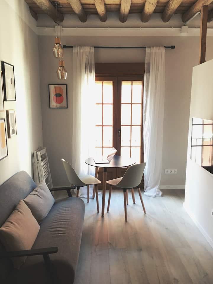 Céntrico Apartamento Loft Renovado con Encanto