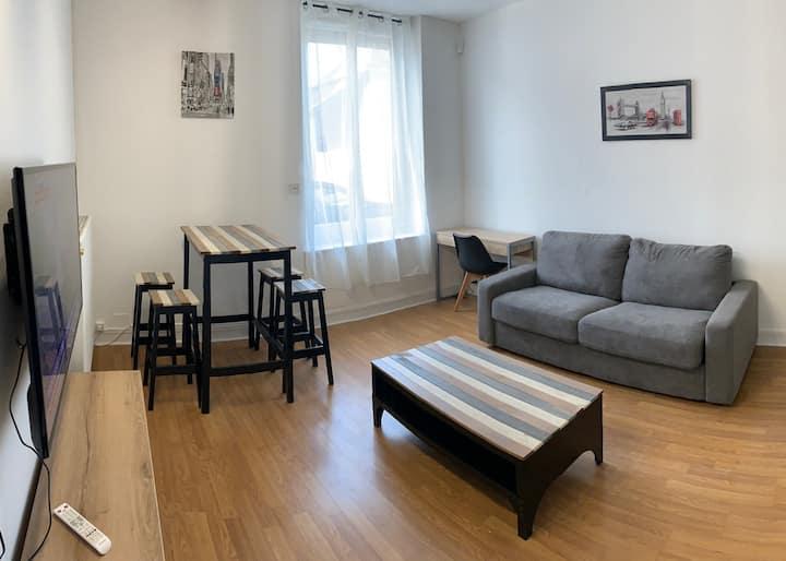 Charmant appartement de ville proche centre