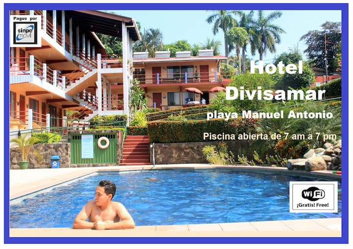 Manuel Antonio Beach, Hotel Familiar Divisamar
