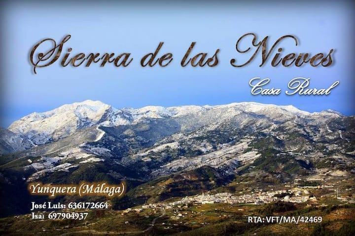 Casa rural Sierra de las Nieves