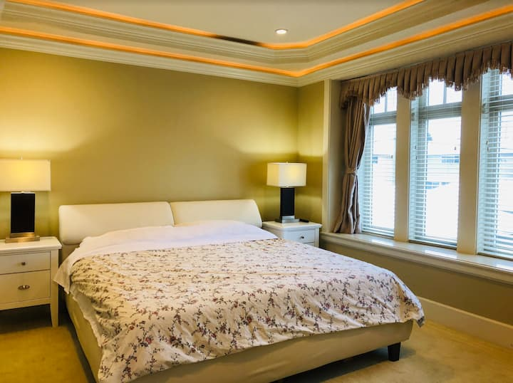 Master Bedroom with Private Washroom