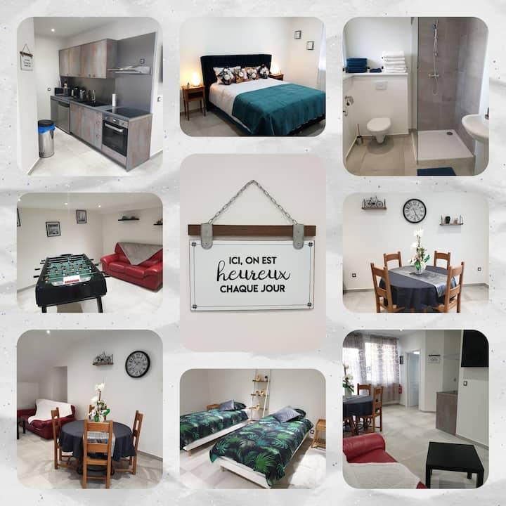 Appartement Cosy pour 4 personnes