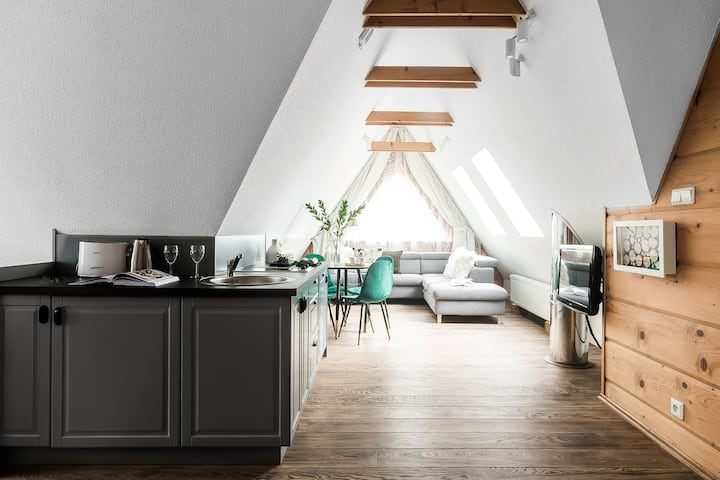 Apartament Lux w stylowej Willi Olga