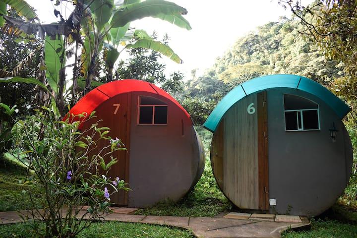 Cabaña circular privada