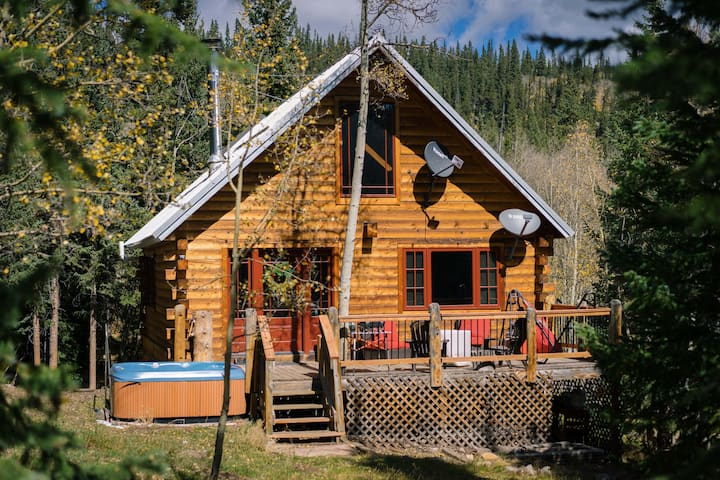 Secluded, cozy cabin w/ hot tub - 30 min to Breck