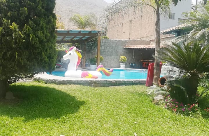 Hospedaje único en un oasis natural_Chaclacayo