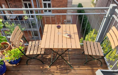Extraordinary apartment in the heart of Nuremberg