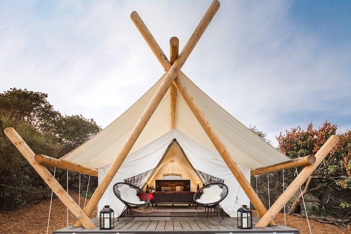 Panoramic View Safari Tent