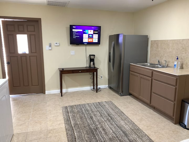 Private Guest Suite with kitchen