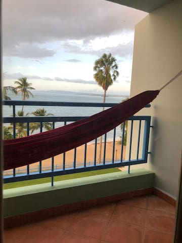The master bedroom has private balcony to relax and enjoy the view