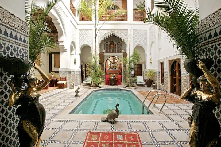 Riad et Spa Esprit du Maroc, luxe, calme, volupté.