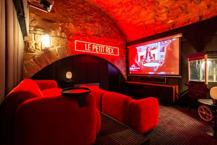 Modern 2BR/6P Place des Vosges with CINEMA&SAUNA