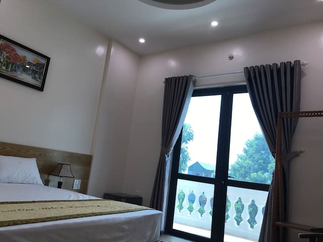 Tam cốc relax homestay has balcony. Double room