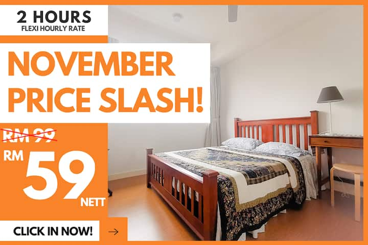 AD2 Rental 2 Hours Whole Unit Only RM59!