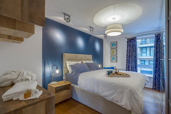 Lux-3beds-5guests-1min from the metro-Free parking
