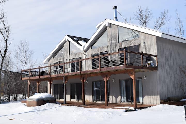 Beautiful Hunter Mt Ski House-Bar Room, Gym, Views