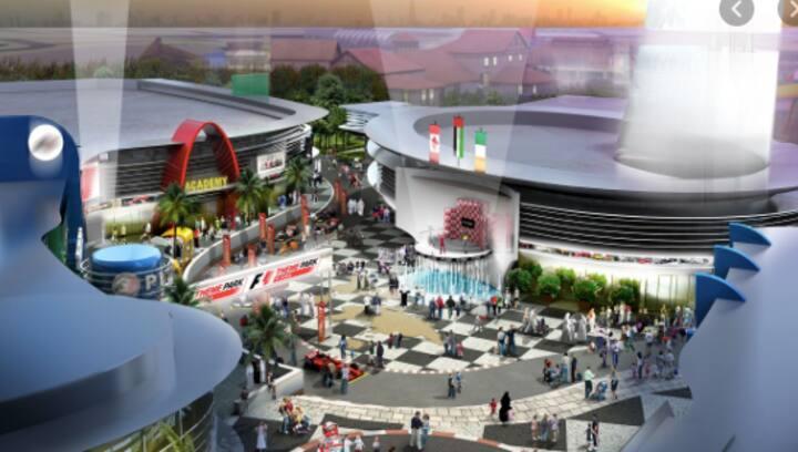 Dubai Motor City F1-X Theme Park, Central Location