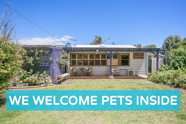 Renovated Cottage, One Street from Aldinga Beach