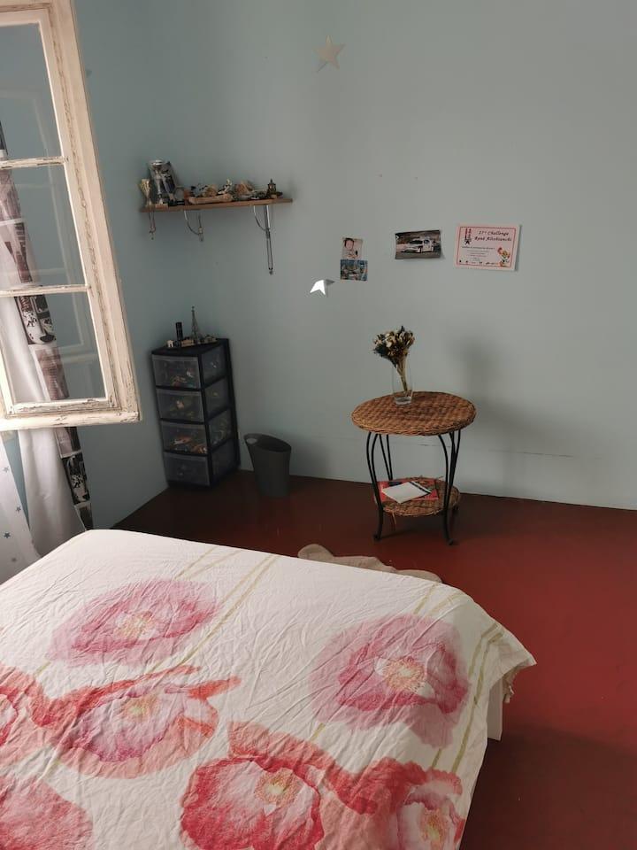 Chambre individuelle au calme