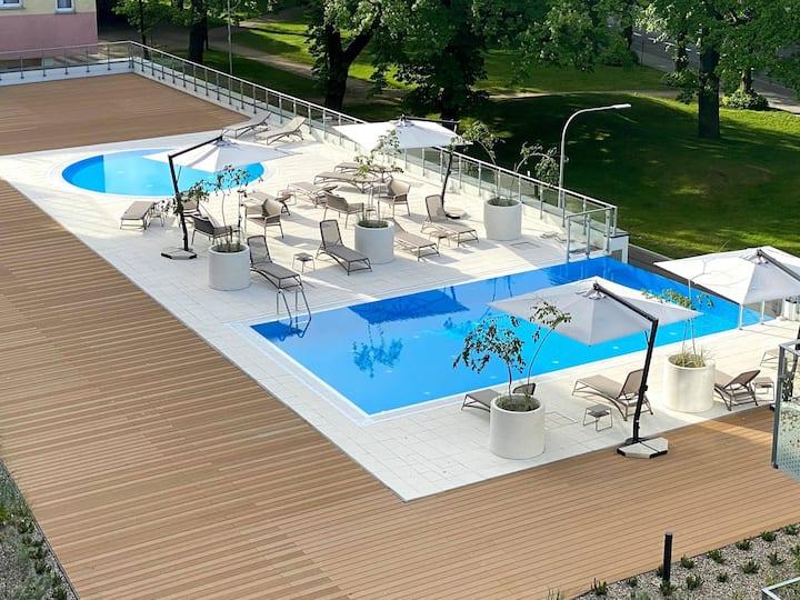 Apartamenty NAVIGATOR z basenem -Nadmorskie Tarasy