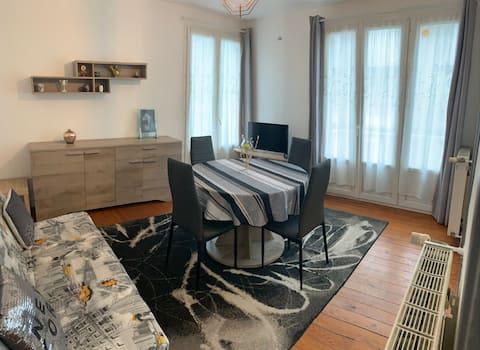LE Tréport: joli appartement avec vue sur mer