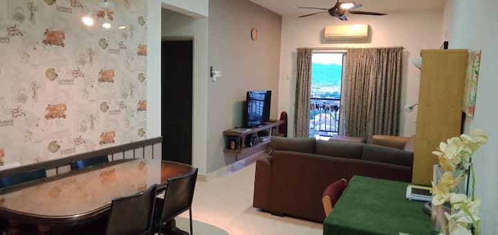 Ampang boulevard condominium, 2 rooms