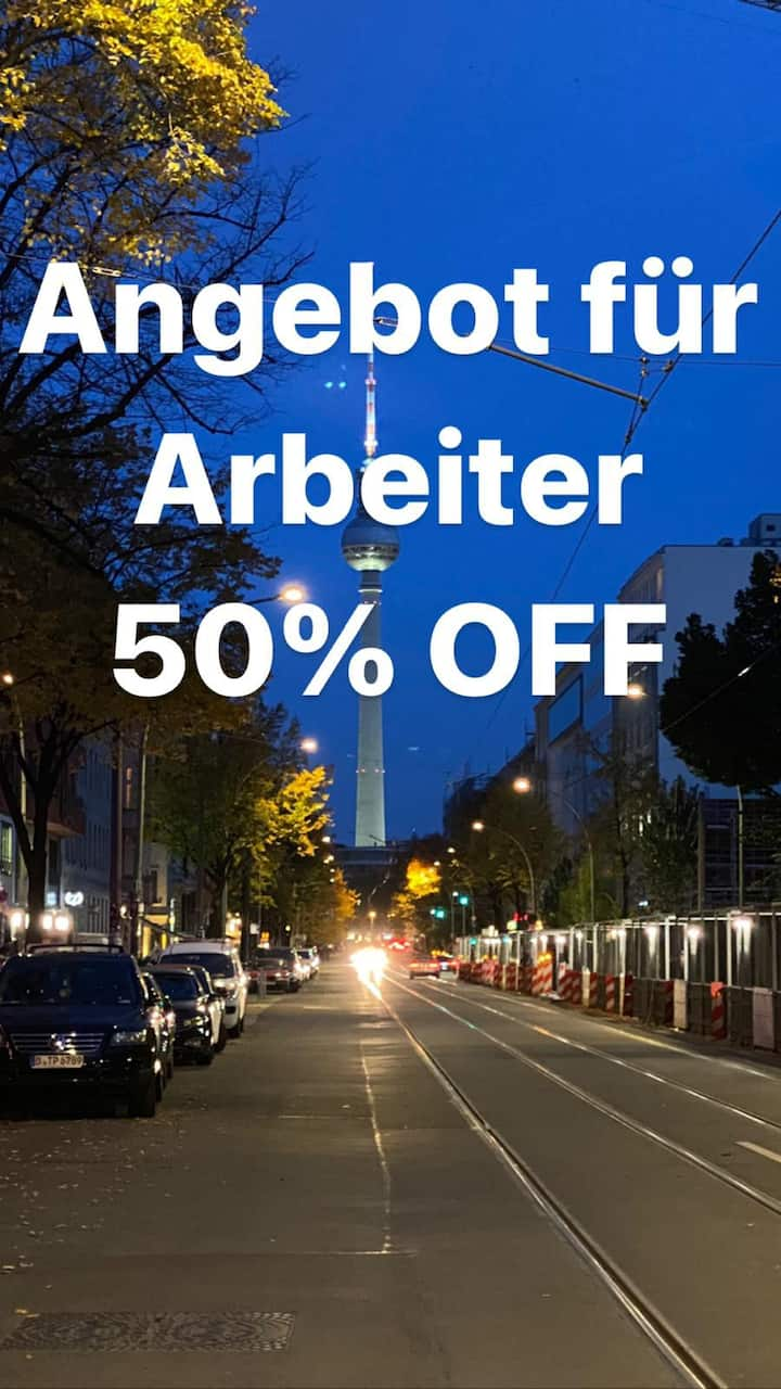 40% off Berlin hotel with a view