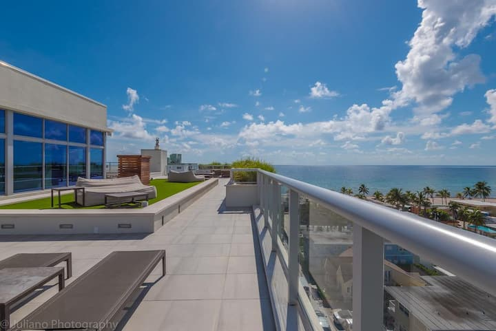 Gateway vacation 1BR Apt with amazing ocean view