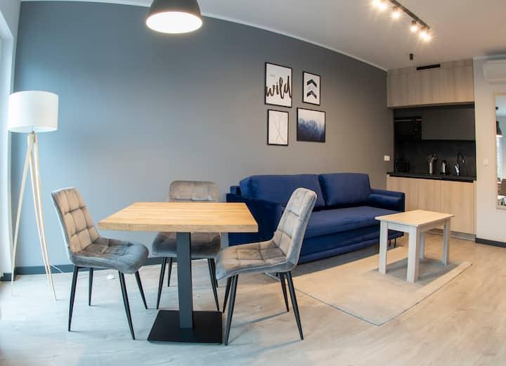 Apartament NAVY BLUE