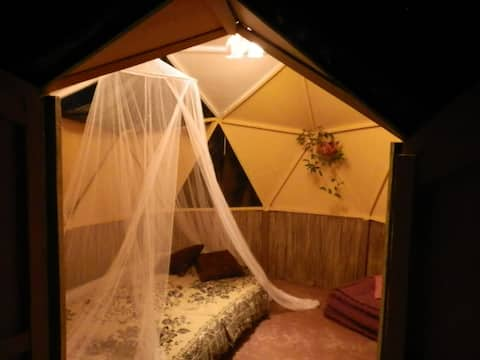 Casita dome Dalmalimay - The Flying Garden