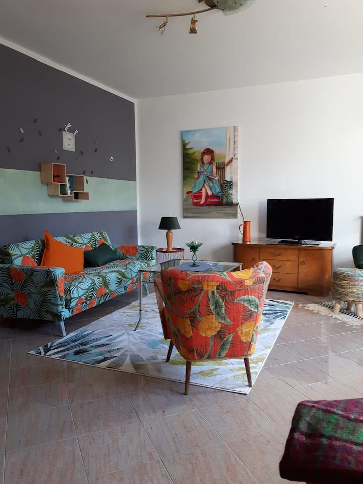 Luxueux appartement de style rétro