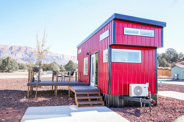 Ruby Red Tiny Home