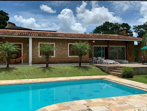 Casa em Atibaia com vista linda para Pedra Grande