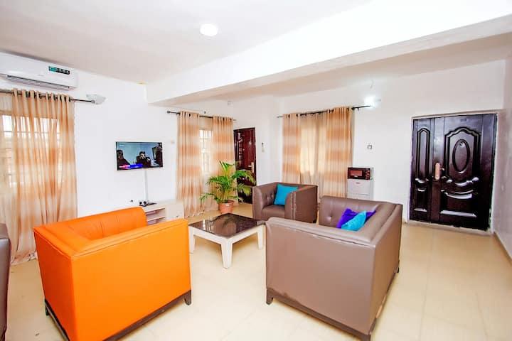 ARO|Apartments: Classic Ens 2BD Flat (Ogba, Ikeja)