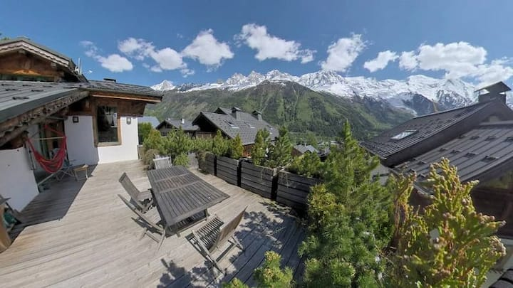 Beautiful 4BDR chalet with a view