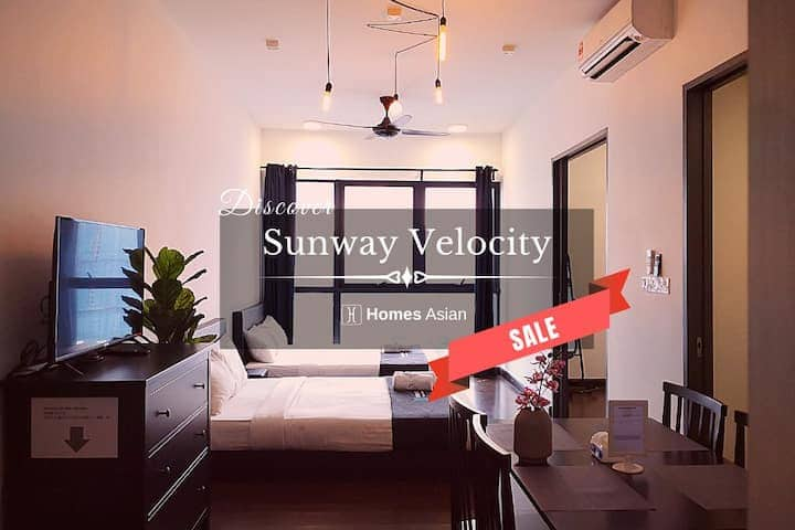 Velocity Suite by Homes Asian - Two room . C207