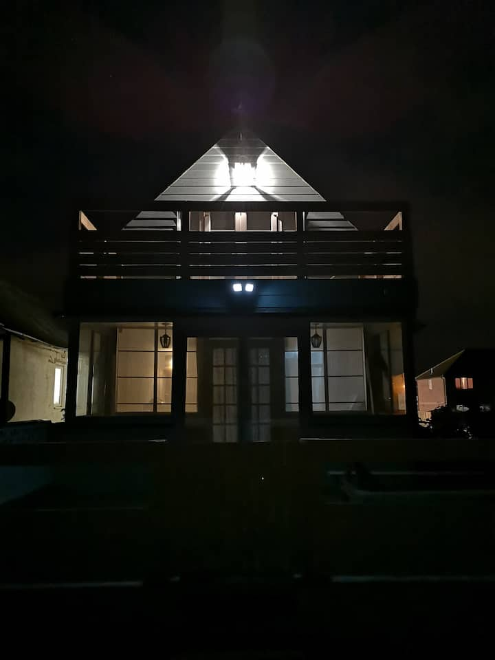 The Beach house in Jaywick sands, Essex.