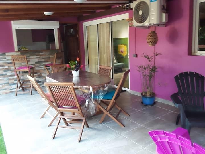 Le Gîte Pitaya,  un F3  idéal pour vos vacances!