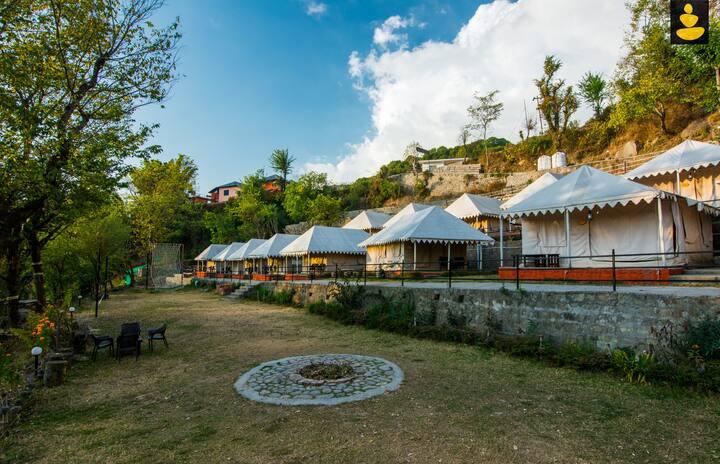 LivingStone Riverside Camps in Bir for Group