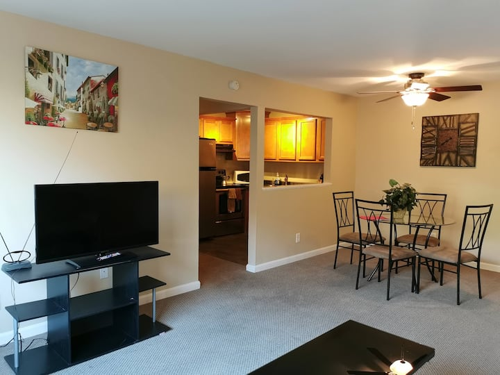 Clean,Quiet Comfort,Central Location, FREE parking