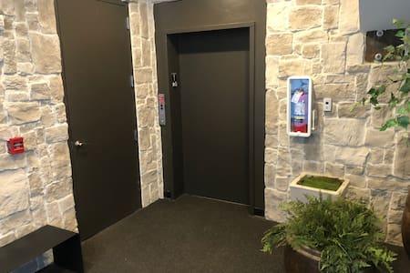 Main level elevator access