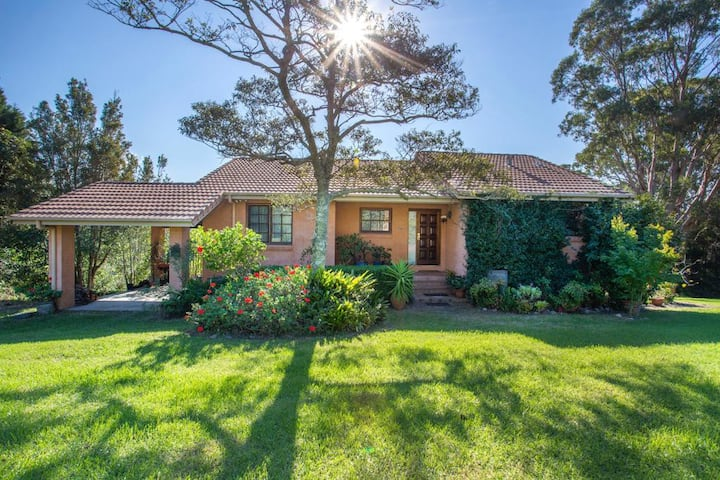 Milton / Conjola acreage-spacious home with views.