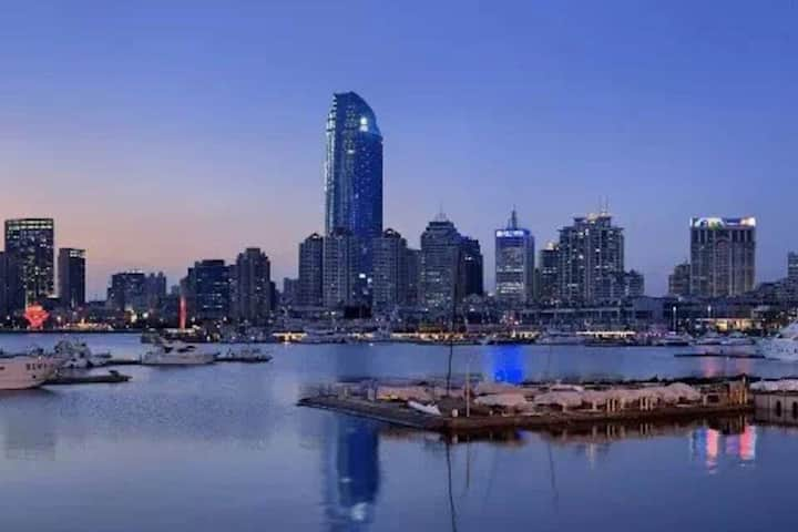 「塞舌尔与洱海畔」极致高端公寓|紧邻五四广场|灯光秀|情人坝|地铁2号线3号线|万象城|海信广场
